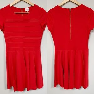 Parker Red Mini Dress